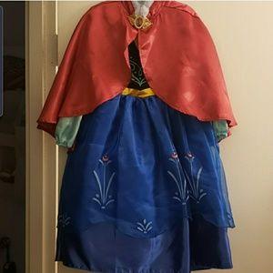 Disney Store Frozen Anna Costume
